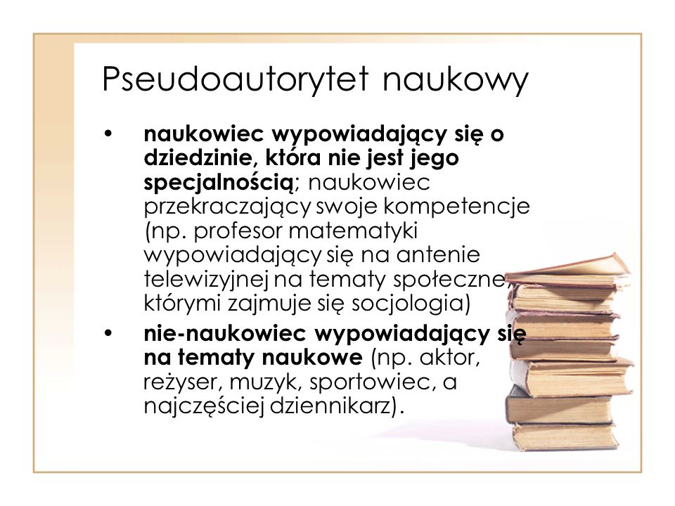 Pseudoautorytet naukowy