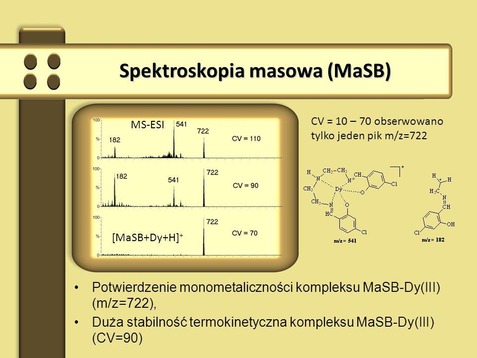 Spektroskopia masowa (MaSB)