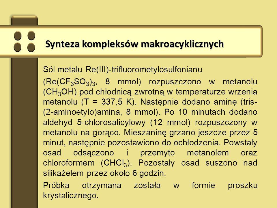 Synteza kompleksów makroacyklicznych