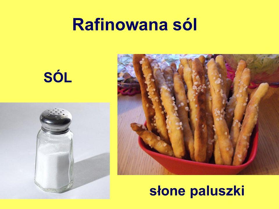 Rafinowana sól SÓL słone paluszki