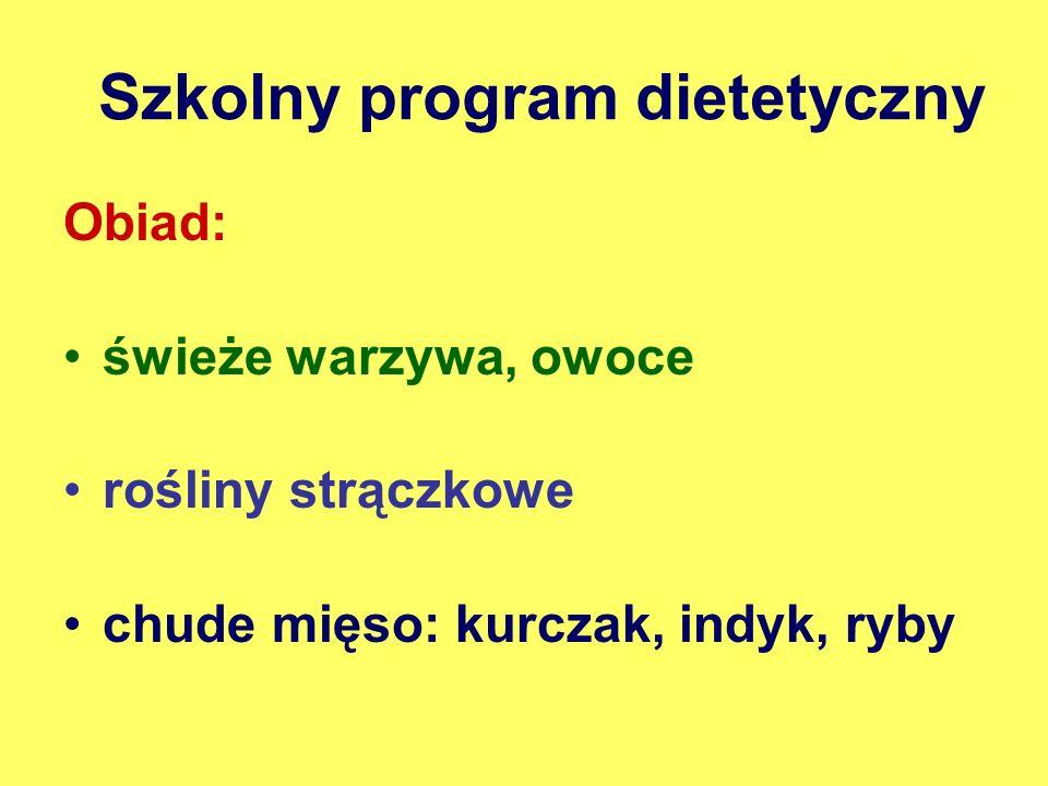 Szkolny program dietetyczny