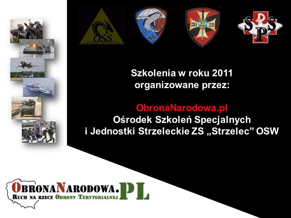 """Ośrodek Szkoleń Specjalnych i Jednostki Strzeleckie ZS """"Strzelec OSW"""