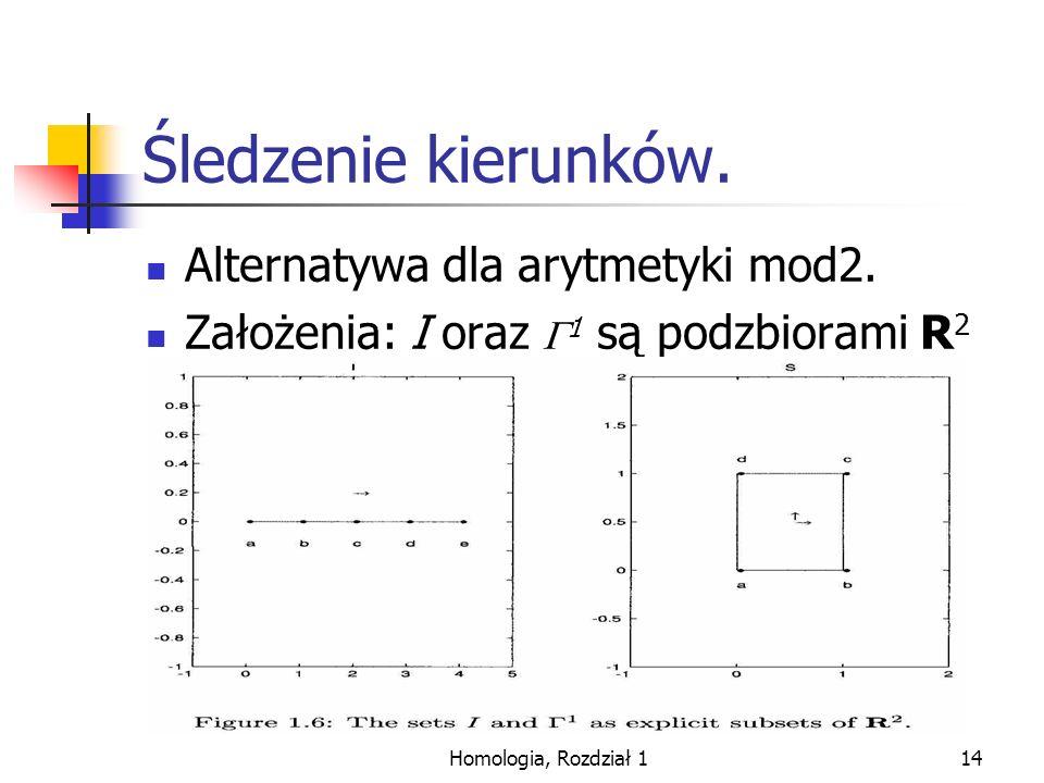 Śledzenie kierunków. Alternatywa dla arytmetyki mod2.