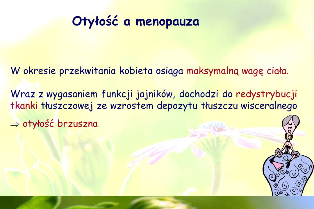 Otyłość a menopauza