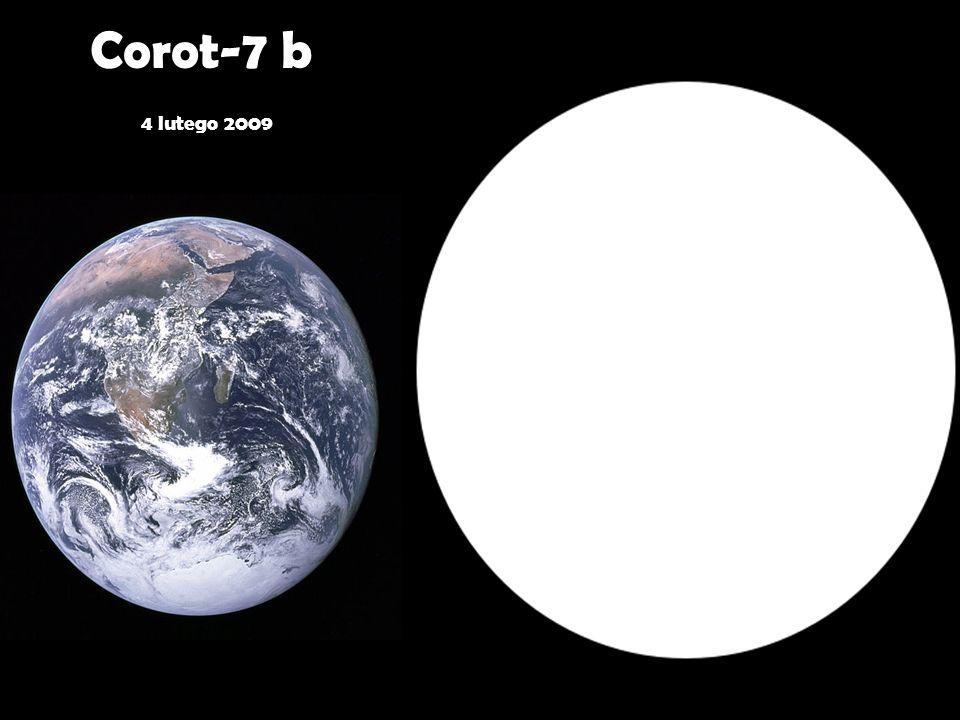 Corot-7 b 4 lutego 2009
