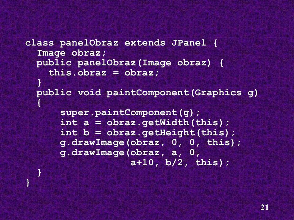 class panelObraz extends JPanel {