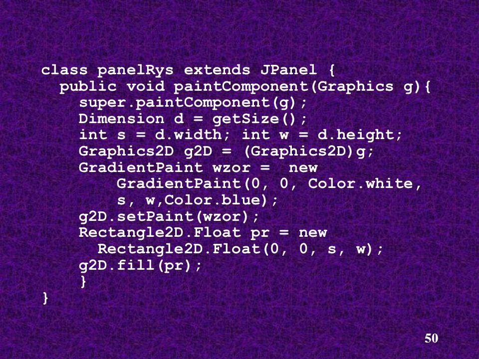 class panelRys extends JPanel {