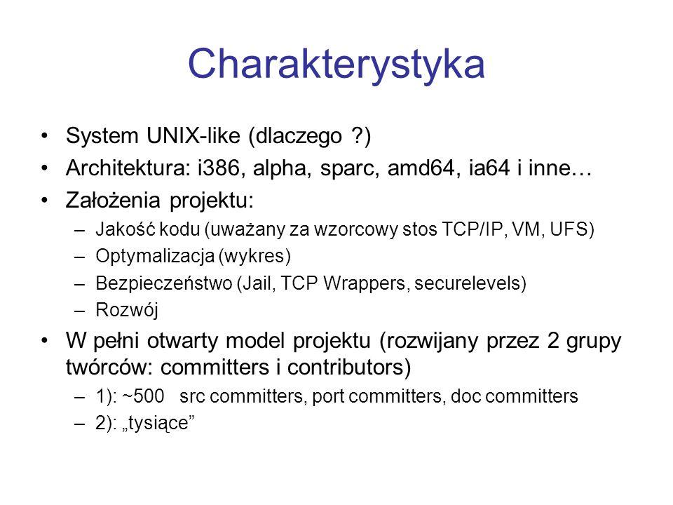 Charakterystyka System UNIX-like (dlaczego )