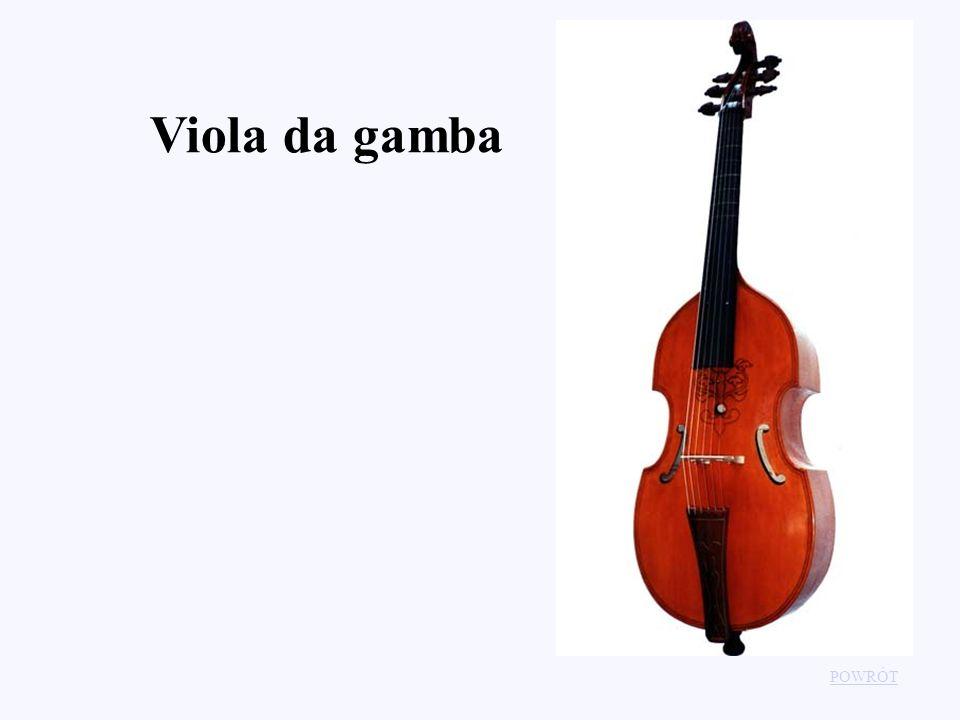 Viola da gamba POWRÓT