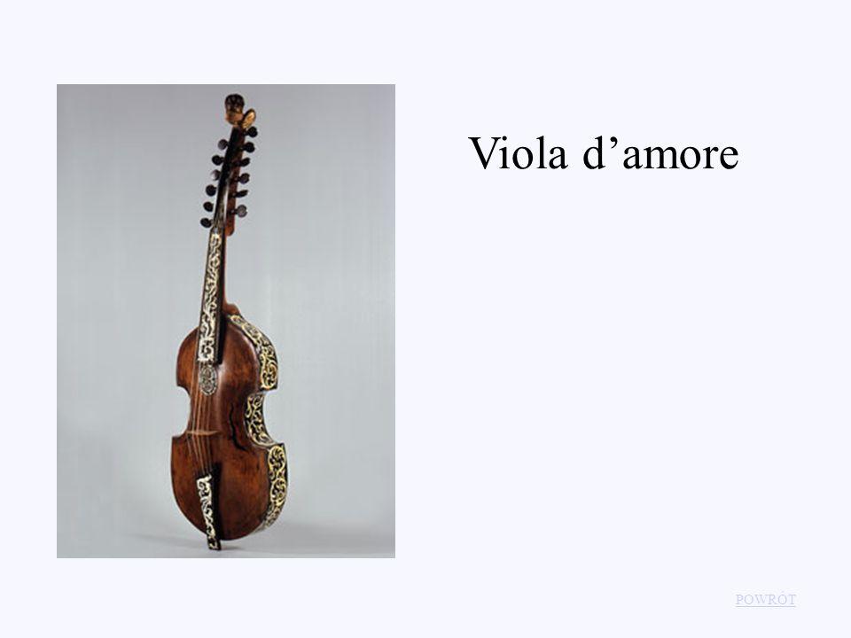 Viola d'amore POWRÓT