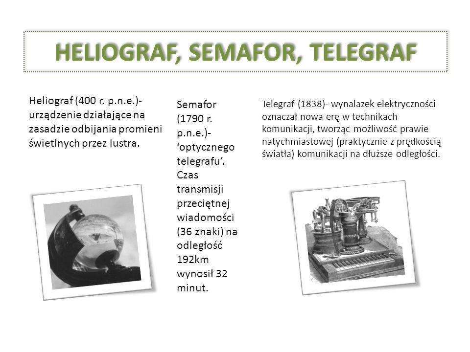 HELIOGRAF, SEMAFOR, TELEGRAF