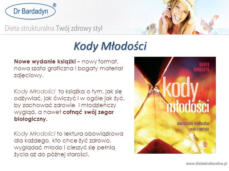 Kody MłodościNowe wydanie książki – nowy format, nowa szata graficzna i bogaty materiał zdjęciowy.