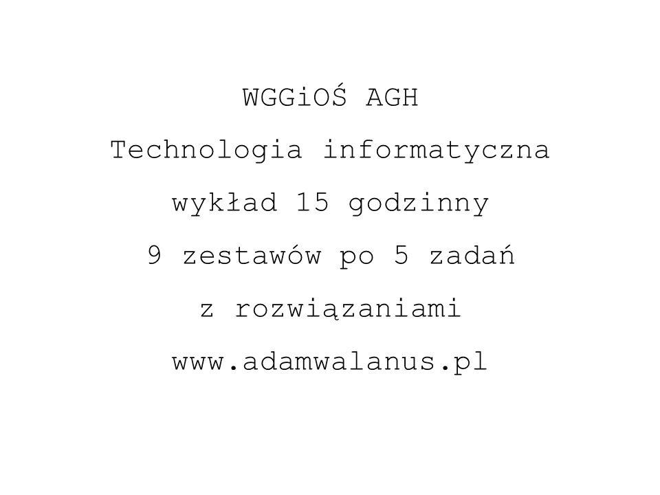 Technologia informatyczna