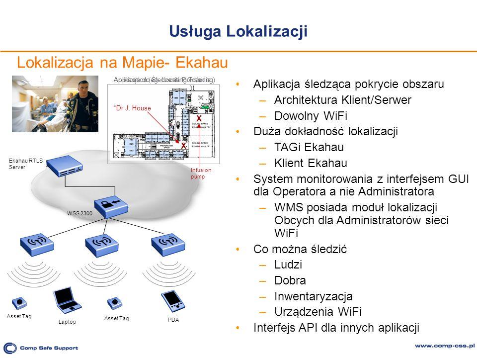 Lokalizacja na Mapie- Ekahau