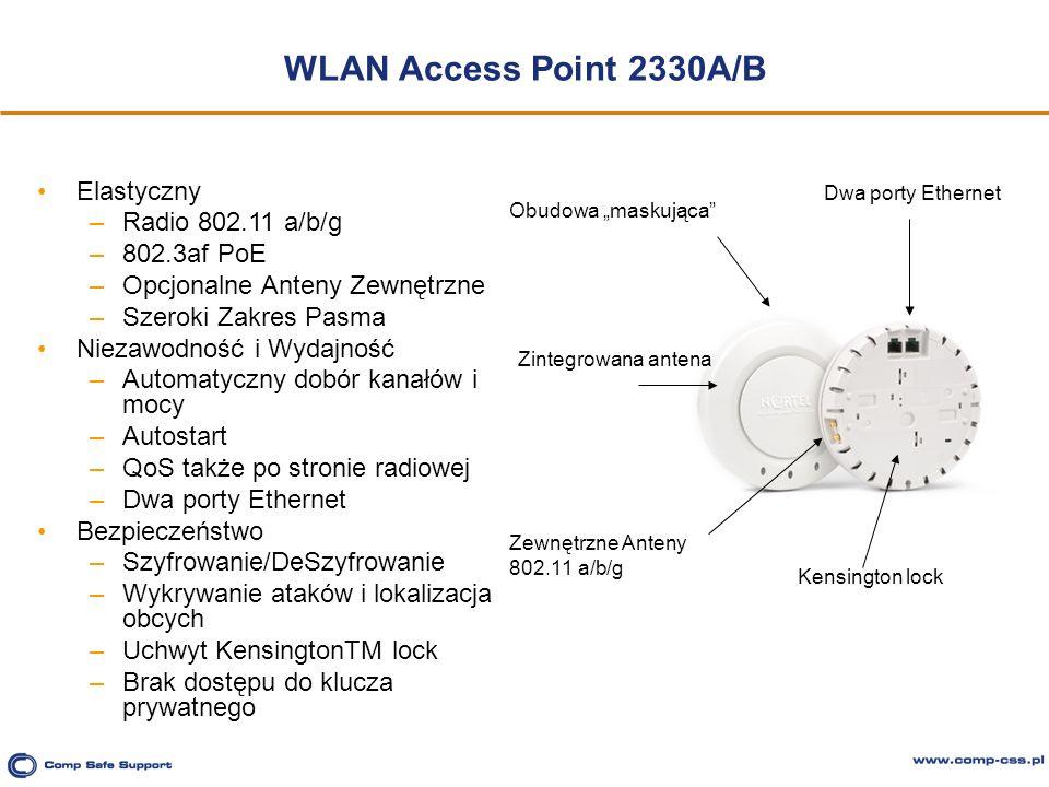 WLAN Access Point 2330A/B Elastyczny Radio 802.11 a/b/g 802.3af PoE