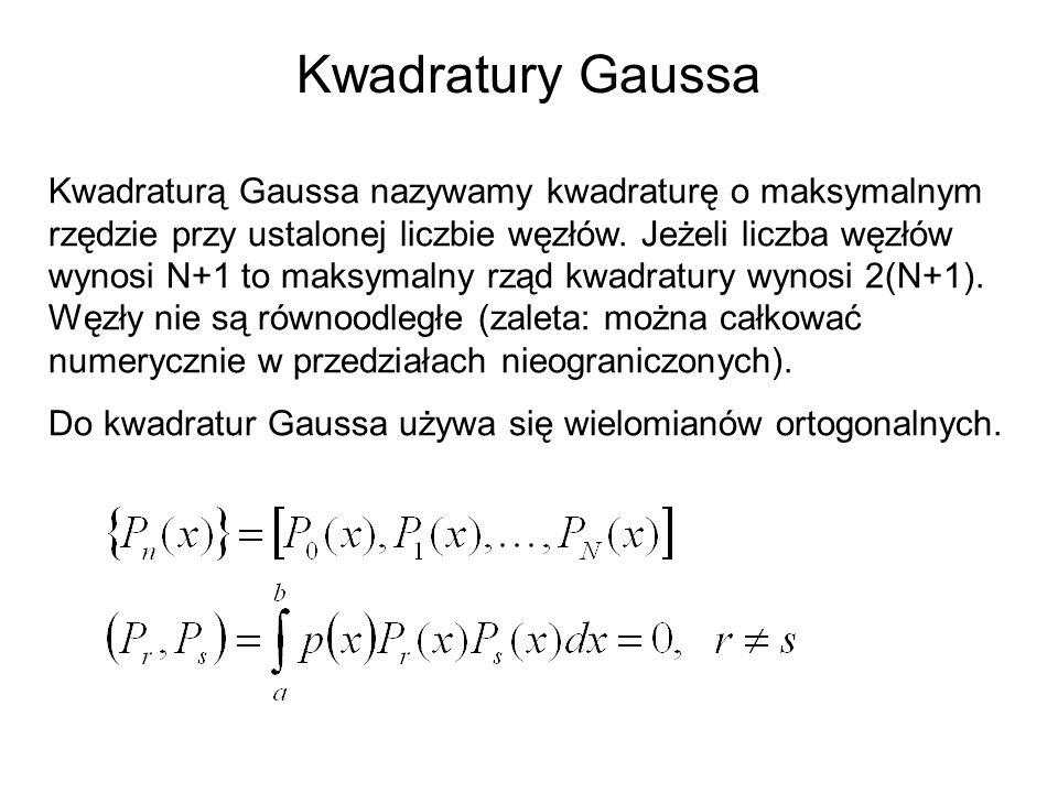 Kwadratury Gaussa