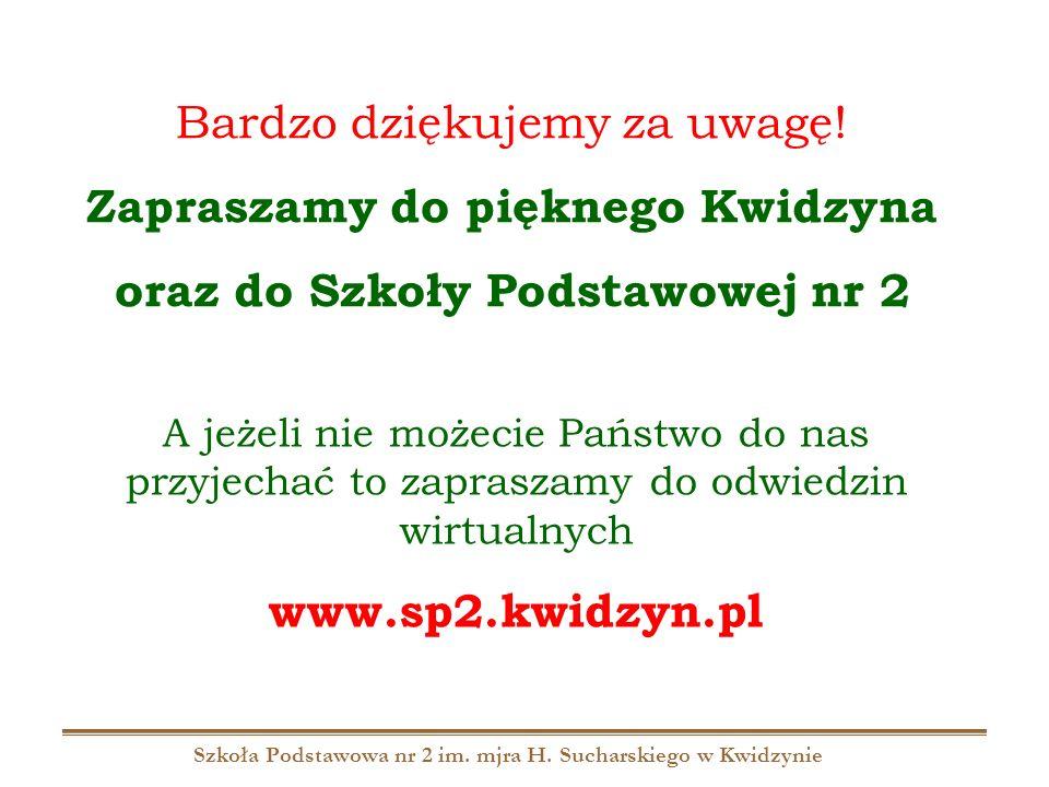 Szkoła Podstawowa nr 2 im. mjra H. Sucharskiego w Kwidzynie