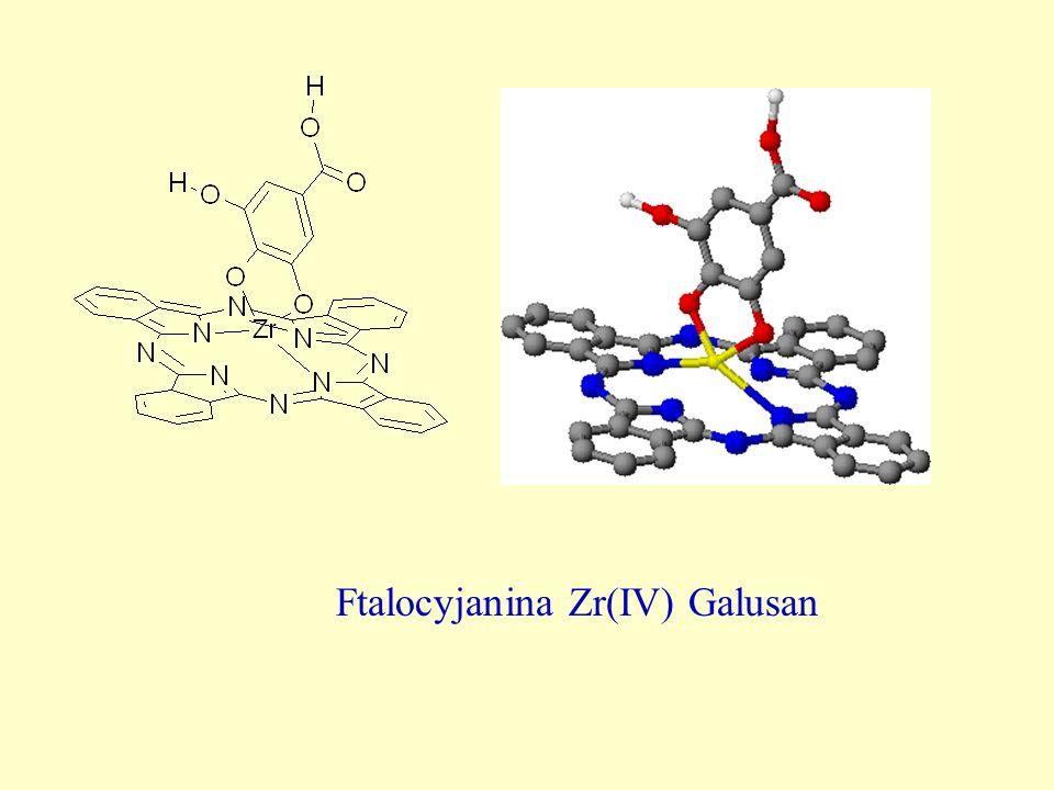 Ftalocyjanina Zr(IV) Galusan