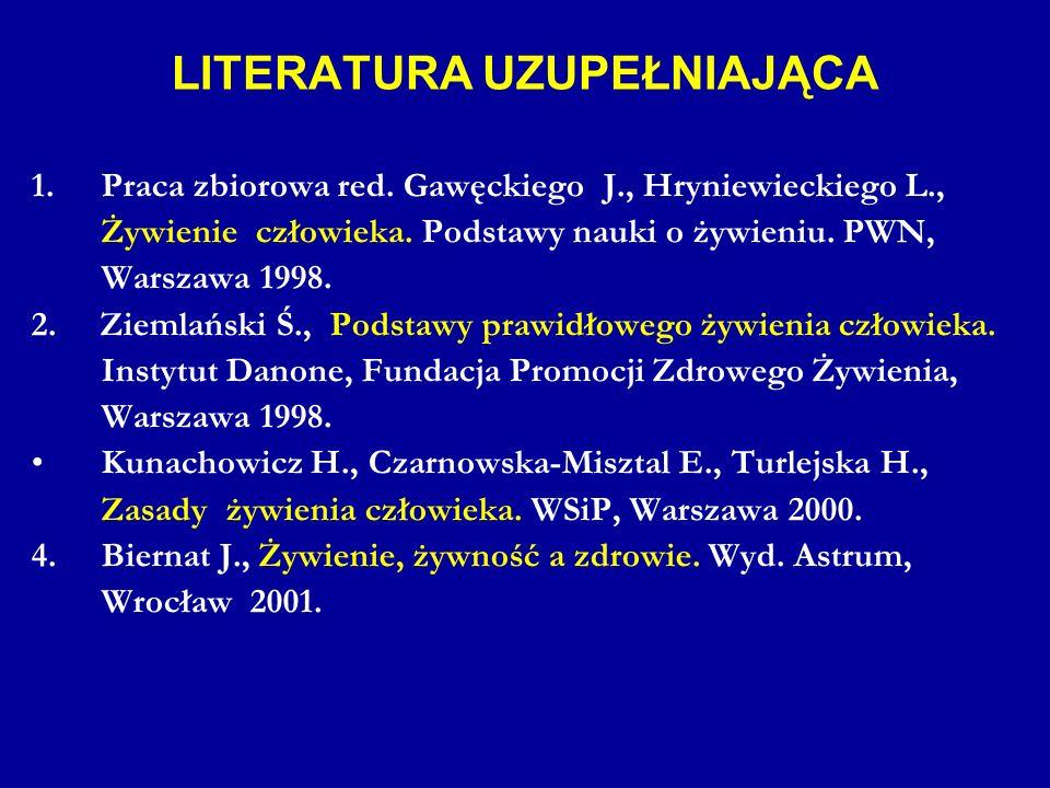 LITERATURA UZUPEŁNIAJĄCA