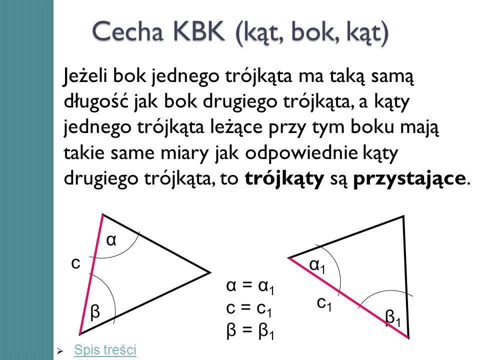 Cecha KBK (kąt, bok, kąt)