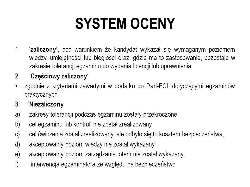 SYSTEM OCENY