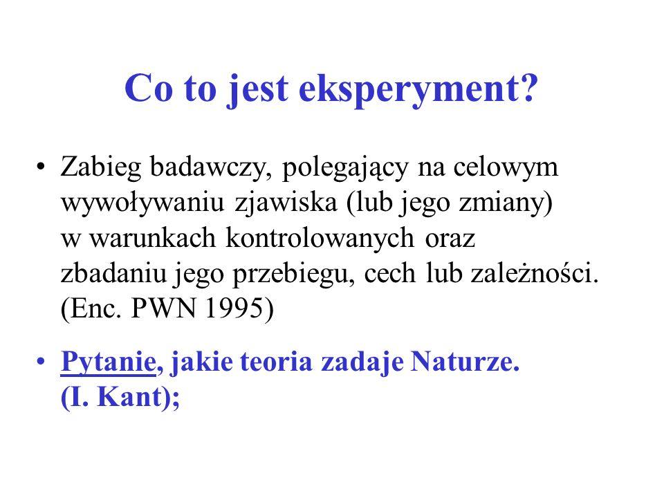 Co to jest eksperyment