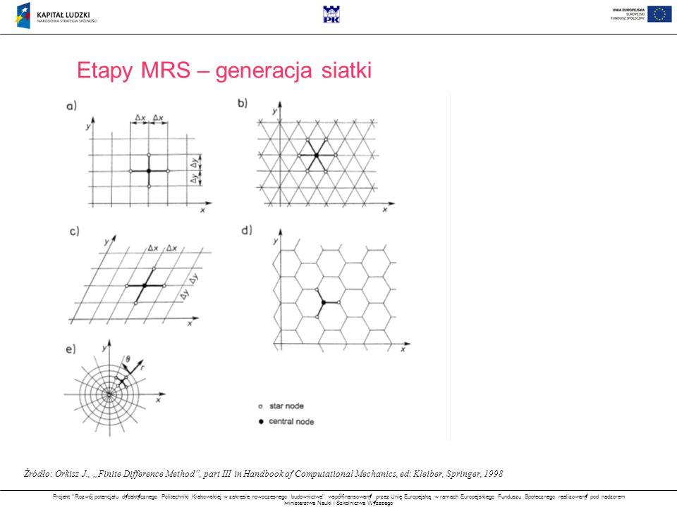 Etapy MRS – generacja siatki