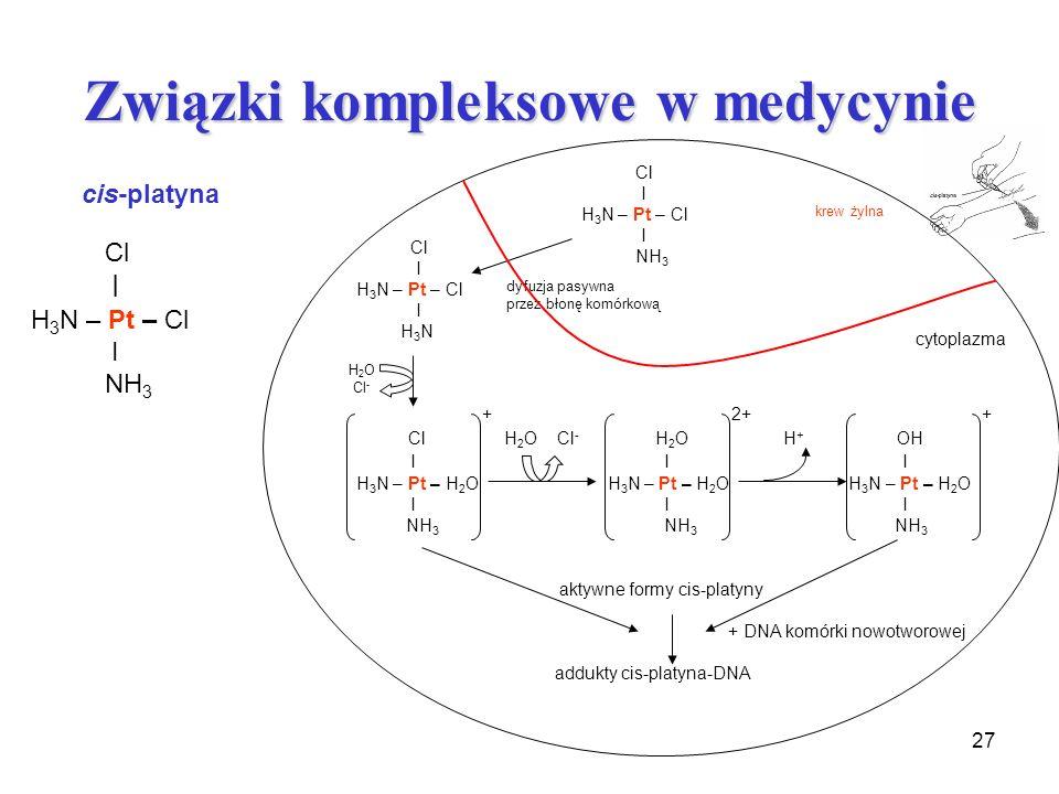 Związki kompleksowe w medycynie