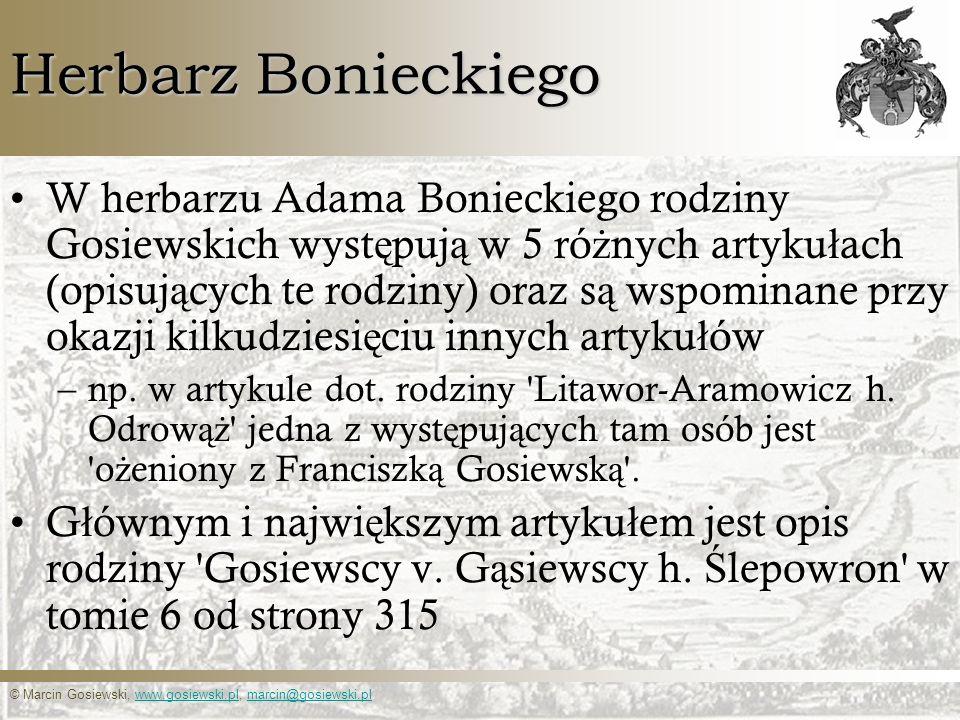 Herbarz Bonieckiego