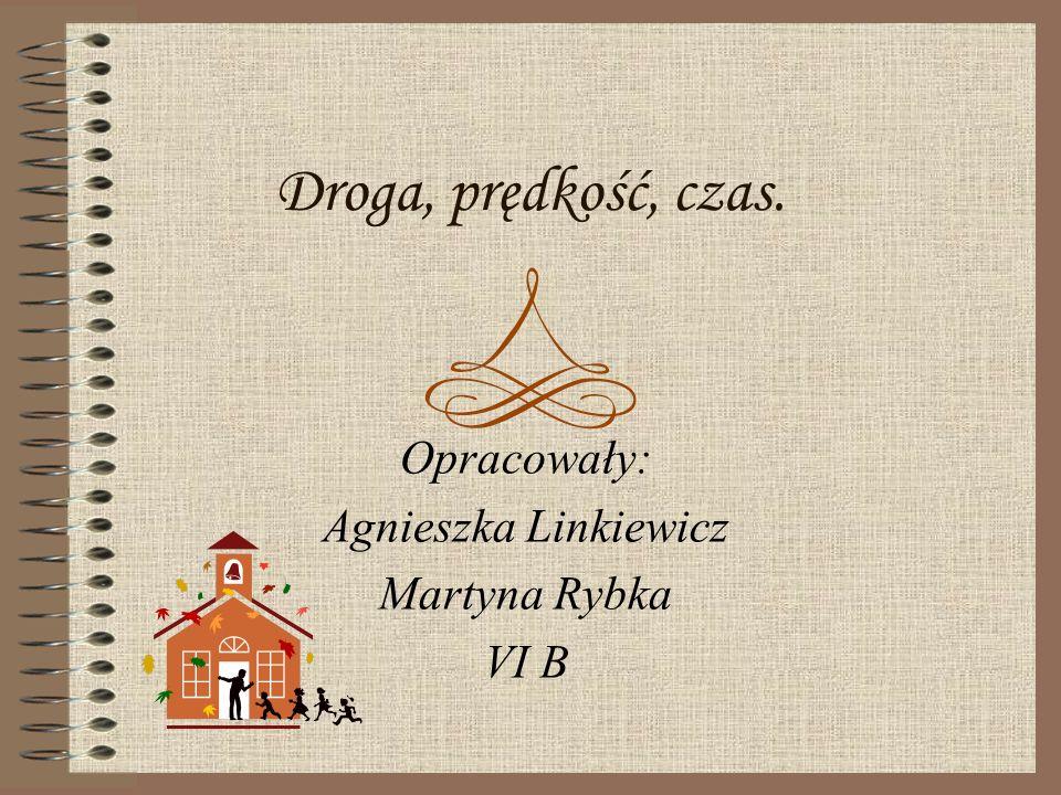 Opracowały: Agnieszka Linkiewicz Martyna Rybka VI B