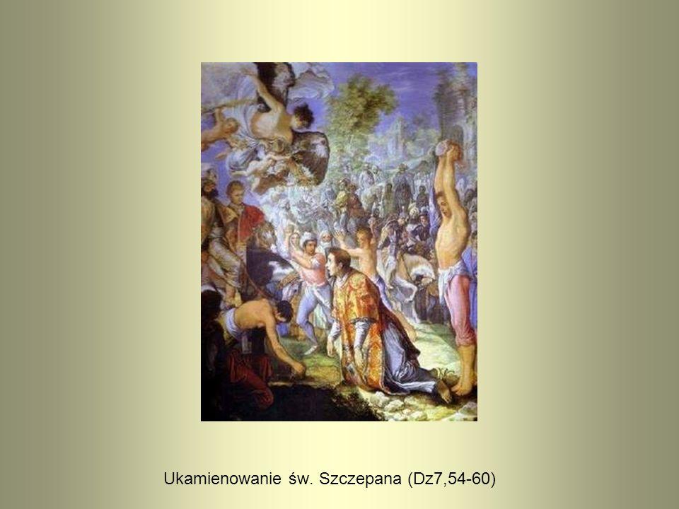 Ukamienowanie św. Szczepana (Dz7,54-60)
