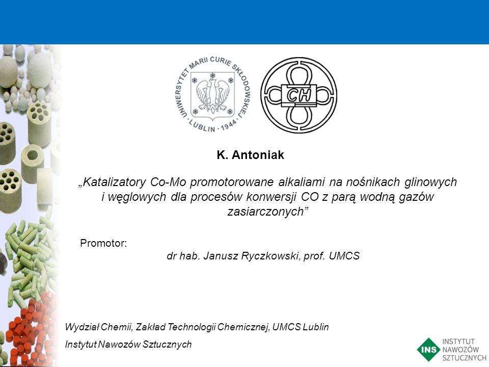 dr hab. Janusz Ryczkowski, prof. UMCS