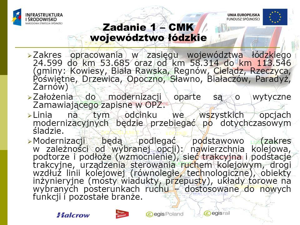 Zadanie 1 – CMK województwo łódzkie