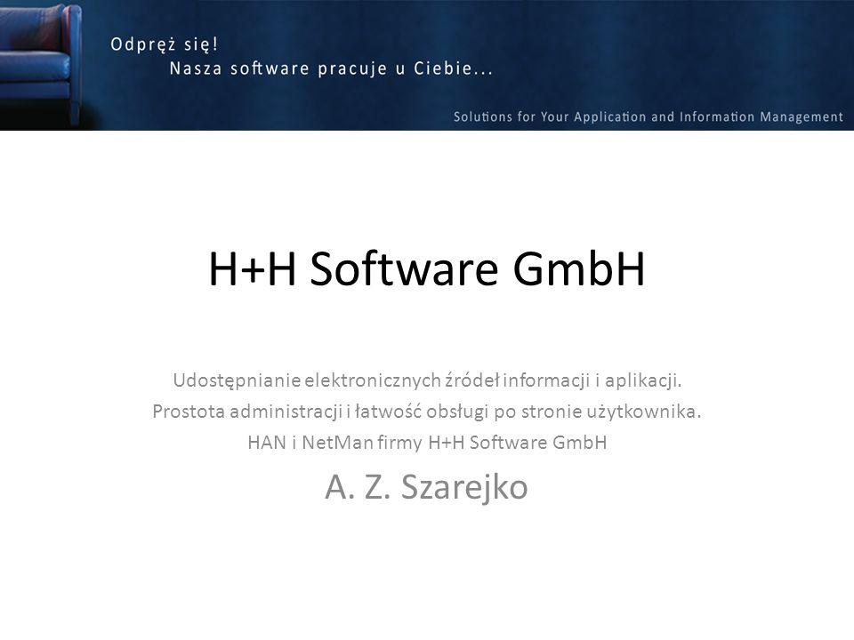 H+H Software GmbH A. Z. Szarejko