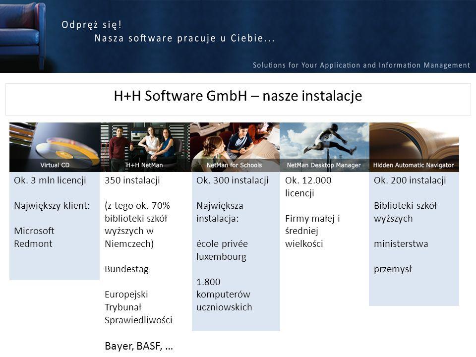 H+H Software GmbH – nasze instalacje