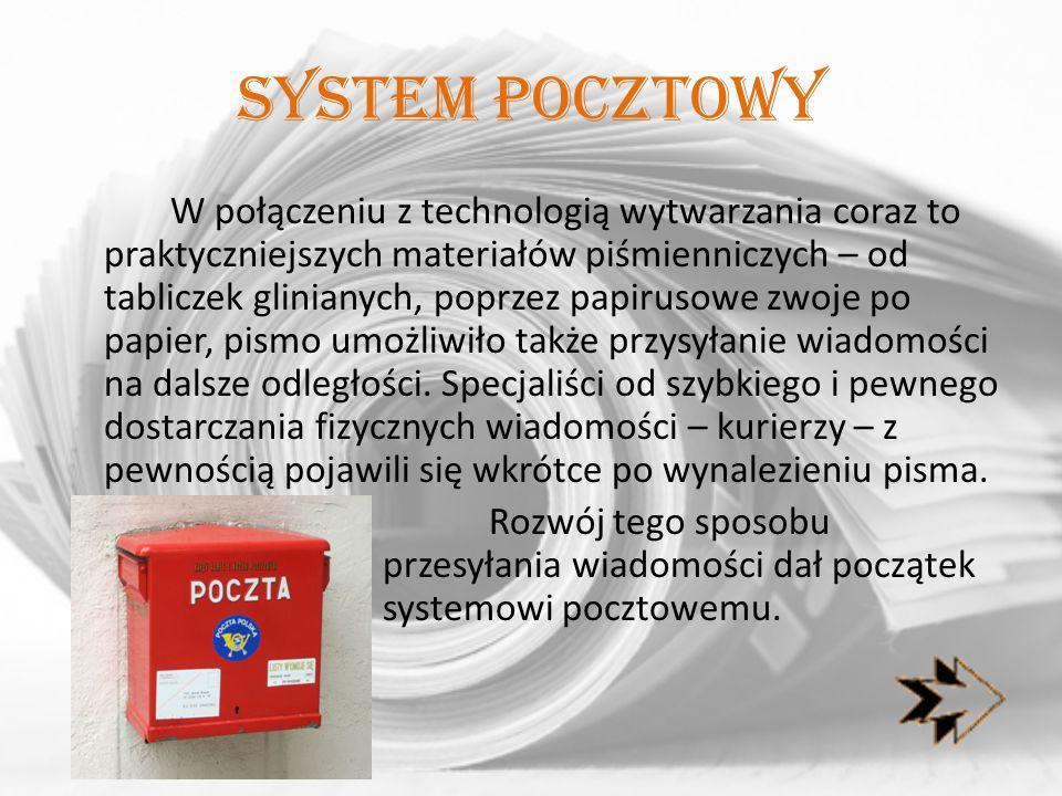 System pocztowy