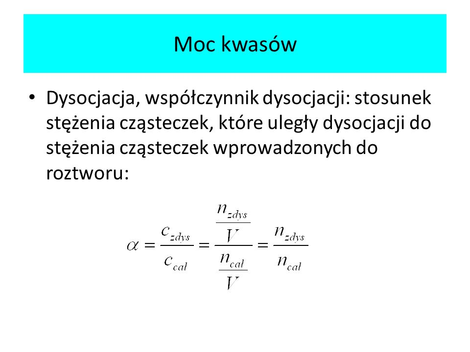 Moc kwasów