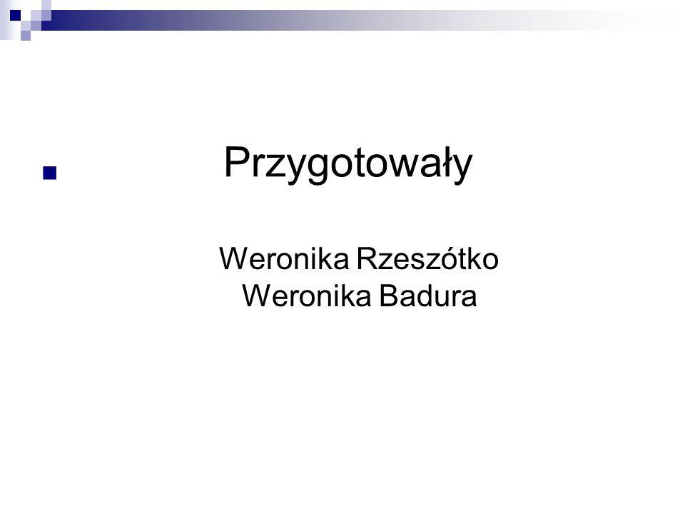 Weronika Rzeszótko Weronika Badura