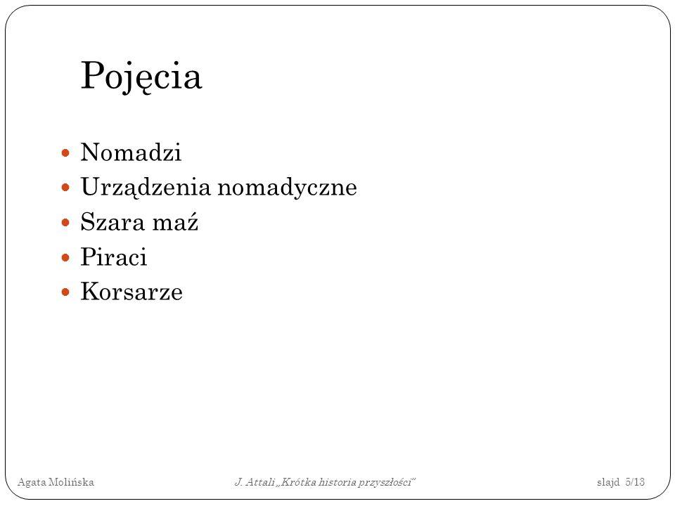 """Agata Molińska J. Attali """"Krótka historia przyszłości slajd 5/13"""