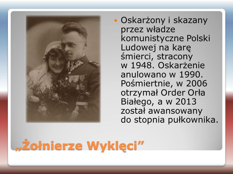 Oskarżony i skazany przez władze komunistyczne Polski Ludowej na karę śmierci, stracony w 1948. Oskarżenie anulowano w 1990. Pośmiertnie, w 2006 otrzymał Order Orła Białego, a w 2013 został awansowany do stopnia pułkownika.
