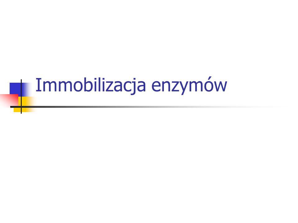Immobilizacja enzymów