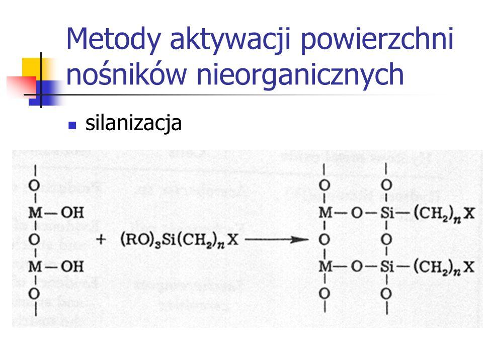 Metody aktywacji powierzchni nośników nieorganicznych