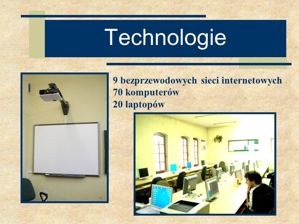 Technologie 9 bezprzewodowych sieci internetowych 70 komputerów