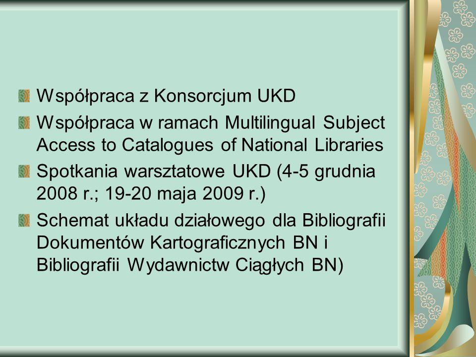 Współpraca z Konsorcjum UKD