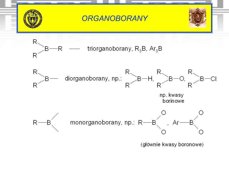 ORGANOBORANY