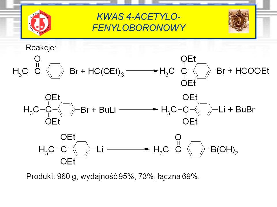 KWAS 4-ACETYLO- FENYLOBORONOWY
