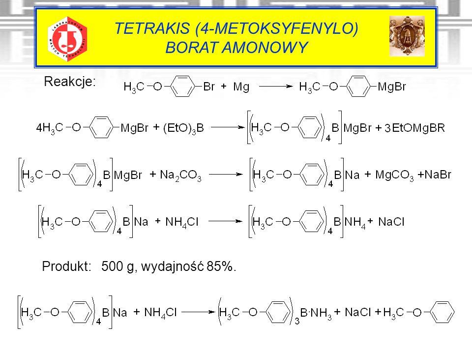 TETRAKIS (4-METOKSYFENYLO) BORAT AMONOWY