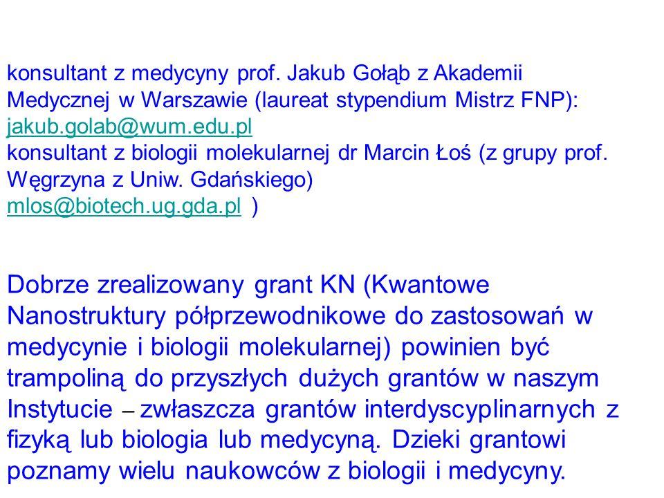 konsultant z medycyny prof. Jakub Gołąb z Akademii