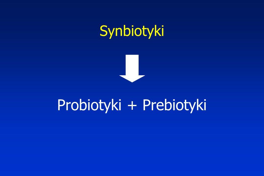Probiotyki + Prebiotyki
