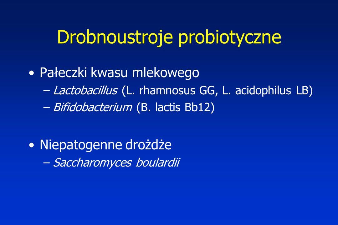 Drobnoustroje probiotyczne